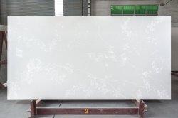 Prefab Carrara cinza/branco/preto/amarelo/Blu/bege/mármore vermelho/granito artificial parece pedra de quartzo da engenharia/cozinha/banheiro bancadas de trabalho para resina epóxida telhas