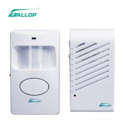 O detector PIR de galope Perímetro Impermeável Wireless Sensor de Movimento Home campainha de alarme