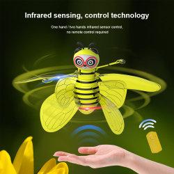 Commerce de gros Kids 38K Infrarouge Avion d'Induction rc jouet avec la lumière de l'abeille