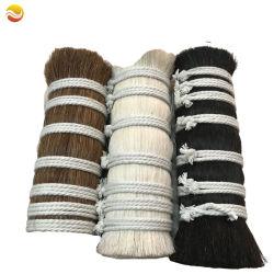 Nero Bianco marrone colore Cavallo coda capelli Cavallo Mane capelli