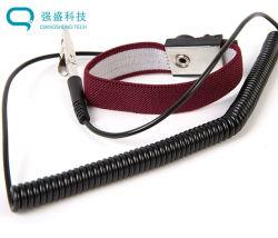 2.9 mm de longitud de cable de cobre que contiene 7 Núcleos Pinza hilo de platino Pulsera antiestática