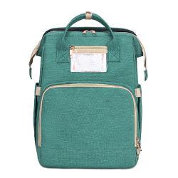 屋外旅行のための多機能の携帯用変更のバックパックの赤ん坊のミイラのおむつの袋そしてベッド