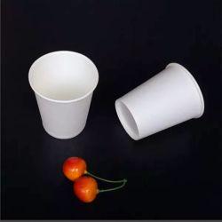 처분할 수 있는 종이컵, 순수한 자연적인 목제 우유 물 컵 커피 Soya-Bean 우유 주스 우유 차 최신 음료 컵