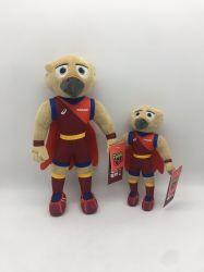 Nach Maß Plüsch-Tierfilm angefülltes Maskottchen-Plüsch-Puppe-Spielzeug