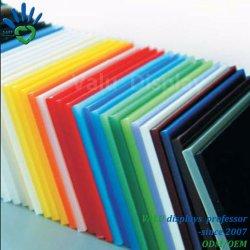 Transparente/limpar plástico fundido a folha de acrílico de PMMA placa em acrílico de plástico