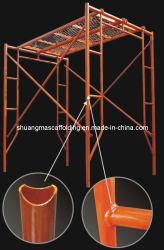 Sale를 위한 색칠 Metal Used Frame Scaffolding