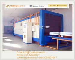 Bois Décoration d'effet usine pour profilés en aluminium