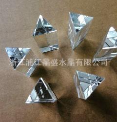 Fabricant de gros triangle Cristal Pendentif en verre de sulfure de colonne