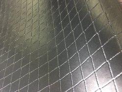 Sapatos Vinyle Faux Couro sintético de PVC para presidir/sofá /Furniture-Silver