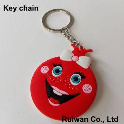 선전용 선물을%s 관례 3D PVC 고무 Keychain