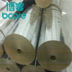 Película de papel de alumínio laminado para Badmintin Tubo de papel