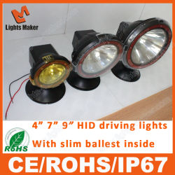 4inch 35With55W H11 HID Work Light, Aluminium Housing Flood Beam Xenon Tractor Working Light