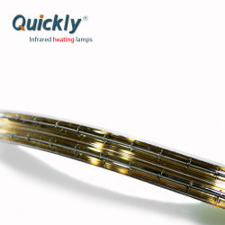Les lampes halogènes à quartz de chauffage infrarouge Ampoule pour soudure à la vague