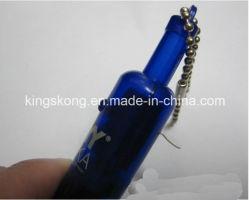 Пластичный факел репроектора СИД Keychain светлый в форме бутылки