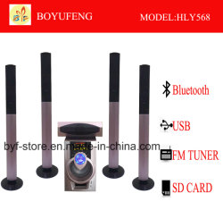 Goede Kwaliteit 5.1 van de Verkoop van Factotry de Spreker van Theare van het Huis met Bluetooth (HLY568)