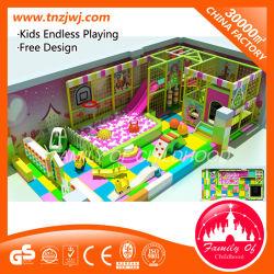 Fabricante de Guangzhou Naughty Castle Soft playground coberto