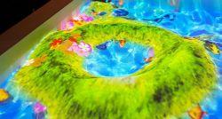 Projecteur interactif Gooest Bac à sable Jeux pour le centre de la famille