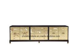 O mobiliário antigo orientais Armário laca pintados à mão com armazenamento de dados