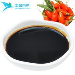 De Chinese die Drank van het Sap Goji van het Concentraat van Lycium wordt gemaakt Chinense