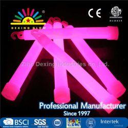 Bastone dell'indicatore luminoso al neon un'incandescenza di 6 pollici nel bastone scuro