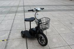 3 roues scooter électrique pliant Trike pour les personnes âgées