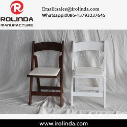 Commerce de gros de la qualité de la résine Hotsales Pouplar chaise pliante pour banquet