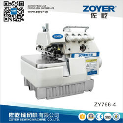 Zoyer Siruba Super High Speed ​​Overlock Máquinas de Costura (ZY766-4F)