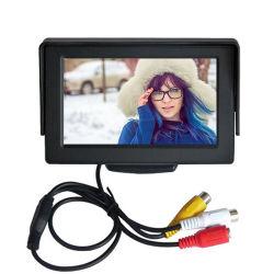 Alta qualidade LCD TFT de 4,3 polegadas Aluguer de carro do Monitor Monitor retrovisor para segurança