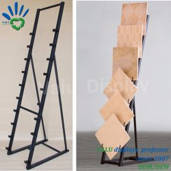 Marble Quartz Stone Display Rack/Display Stand