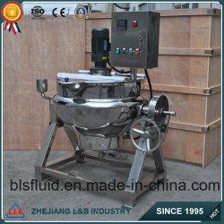 Sirop de basculement de la cuisine en acier inoxydable de la machine (BLS) de chauffage électrique
