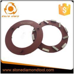 240mm segmentierter Klindex Diamant-reibender Ring für Beton