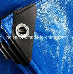 250gsm tecidos impermeável Verde PE lona para cobertura