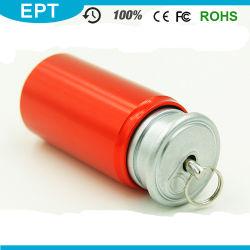 Металлические Pop-Top может Mini USB Flash накопитель с бесплатный образец