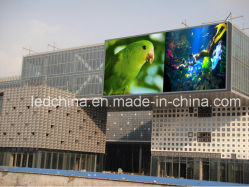 Im Freien P10 super heller video bekanntmachender LED Bildschirm