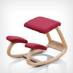 Crianças Rocking compensado de madeira empenada Ergonomia Cadeira de rebaixamento