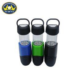 Voyant ABS 3+1 télescopique lanterne de camping, 2 en 1 Triangle de la Lampe de camping