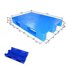 Multi-Size Single Faced Grid Skid Euro Warehouse Pallet Kunststoff