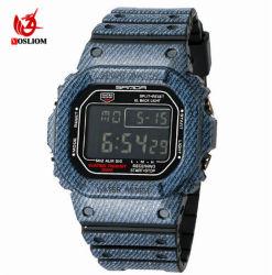 Mens moda LED de alarme de quartzo Analógico Digital Data Sports relógio de pulso relógio à prova de crianças para relógios#V656