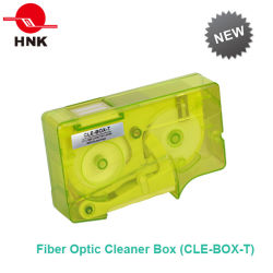 Fibra Optic Cleaner Box per Low Cleaning Cost Applications