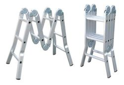 En131 Folding Multi-Purpose Fire Escape Ladder