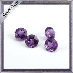De ronde Violette Natuurlijke Semi Kostbare Parels van de Halfedelsteen