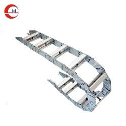 Type de pont en aluminium souple Faites glisser le bac de câble de chaîne