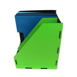 Caixa de armazenamento dobrada colorida e arquivo à moda do compartimento