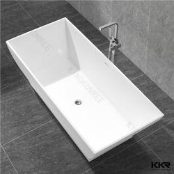 Kkr utensilios de baño de mármol Artificial piedra sanitaria bañera