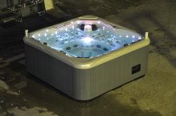 屋外の温水浴槽の鉱泉Jcs-65