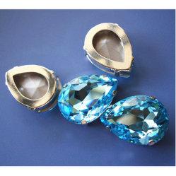 Branelli di cristallo di goccia di Dongzhou con la regolazione del metallo