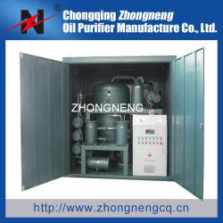 Vacío Double-Stage el equipo de tratamiento de residuos de aceite del transformador/equipos de purificación de aceite