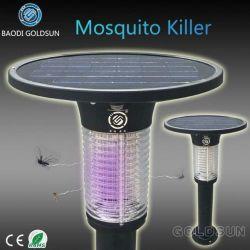 Asesino de mosquitos Solar Zapper Sensor de luz incorporada, Sensor de lluvia, sensor de tiempo