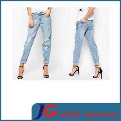 Diseño de Moda Ropa Mujer Señoras Deporte Usar jeans (JC1353)