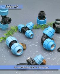 Fournitures de plomberie raccords de compression en PP